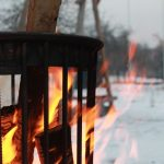 warm terras